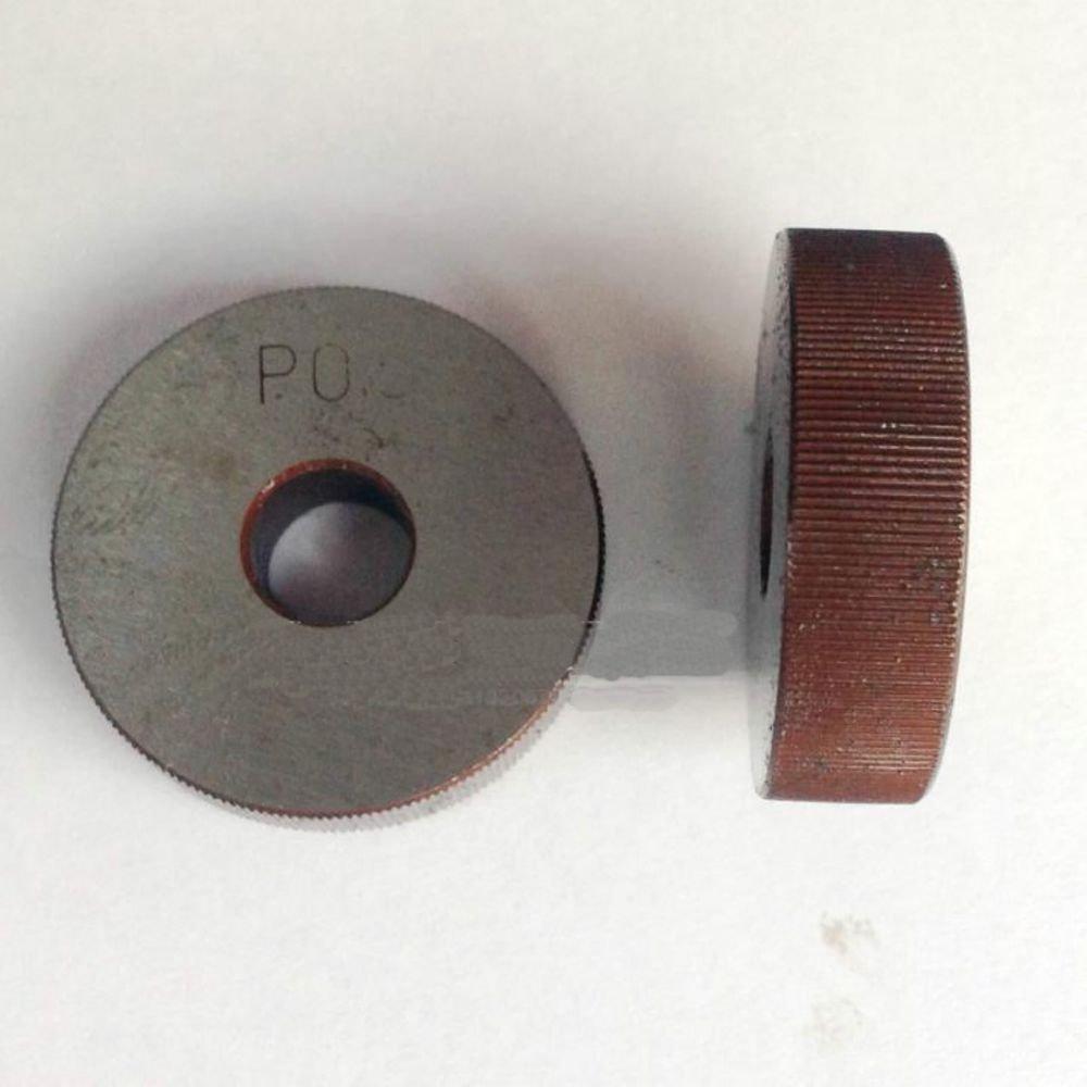 2PCS 0.6mm Pitch 8mm(ID)*28mm(OD)*8mm(H) Single Straight Wheel Knurling Linear