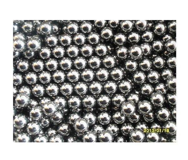 6.35mm Dia Glossy Generally Mechanical Level 2 Steel Balls Each Bid for 0.5Kg