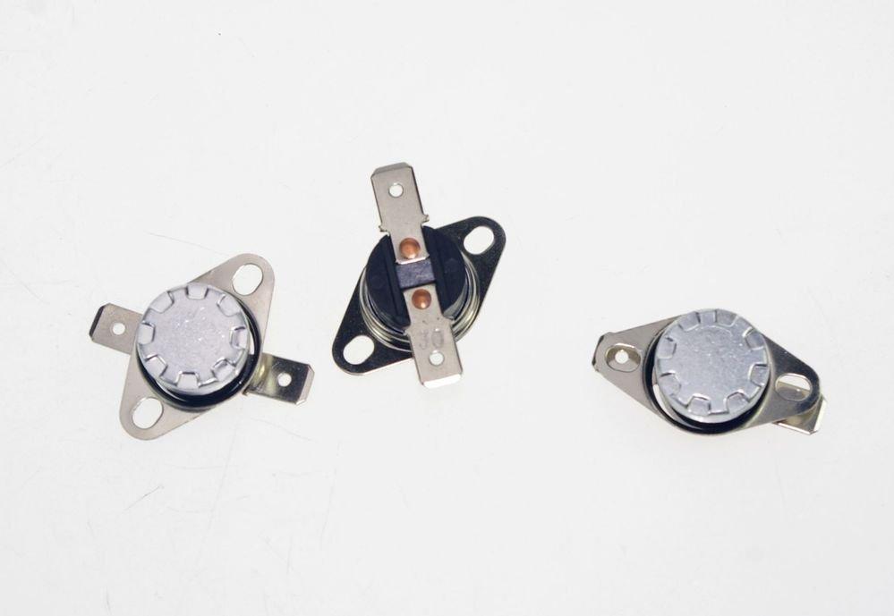 3PCS KSD301 NC 75 Celsius Button Temperature Switch Senser Thermostat Controllor