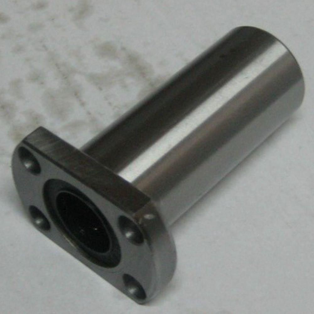 (2)25*40*112mm Ellipse Long Type CNC Linear Motion Metal Shield Bearing LMH25LUU