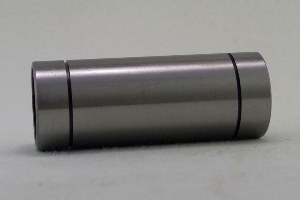 (1) 50*80*192mm LM 50LUU Round Long Type CNC Linear Motion Metal Shield Bearing
