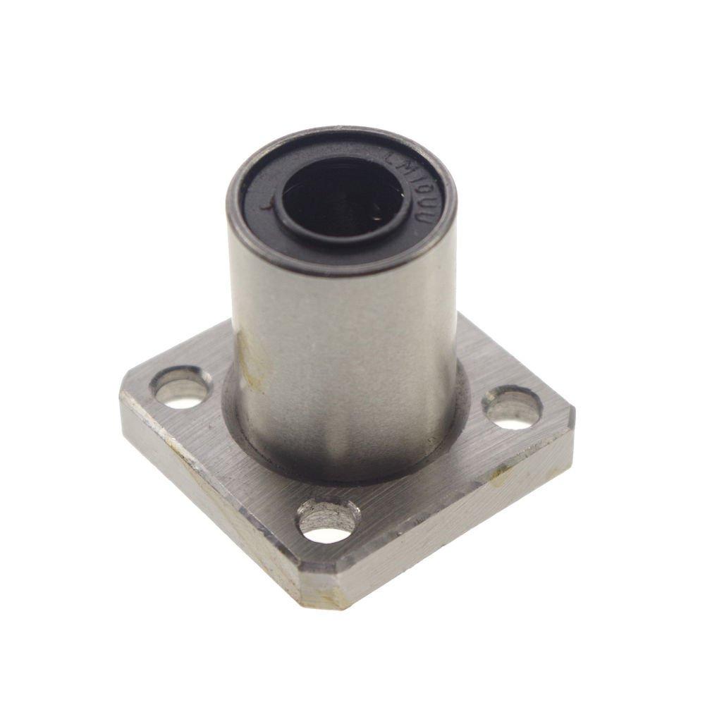 (1)CNC Square Flange Type Linear Motion Bushing Ball Bearing LMK50UU 50*80*100mm