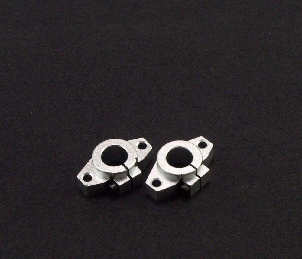 (2)Bearing CNC Aluminum Rail SHF35 Linear Motion Shaft Support Series Slide 35mm