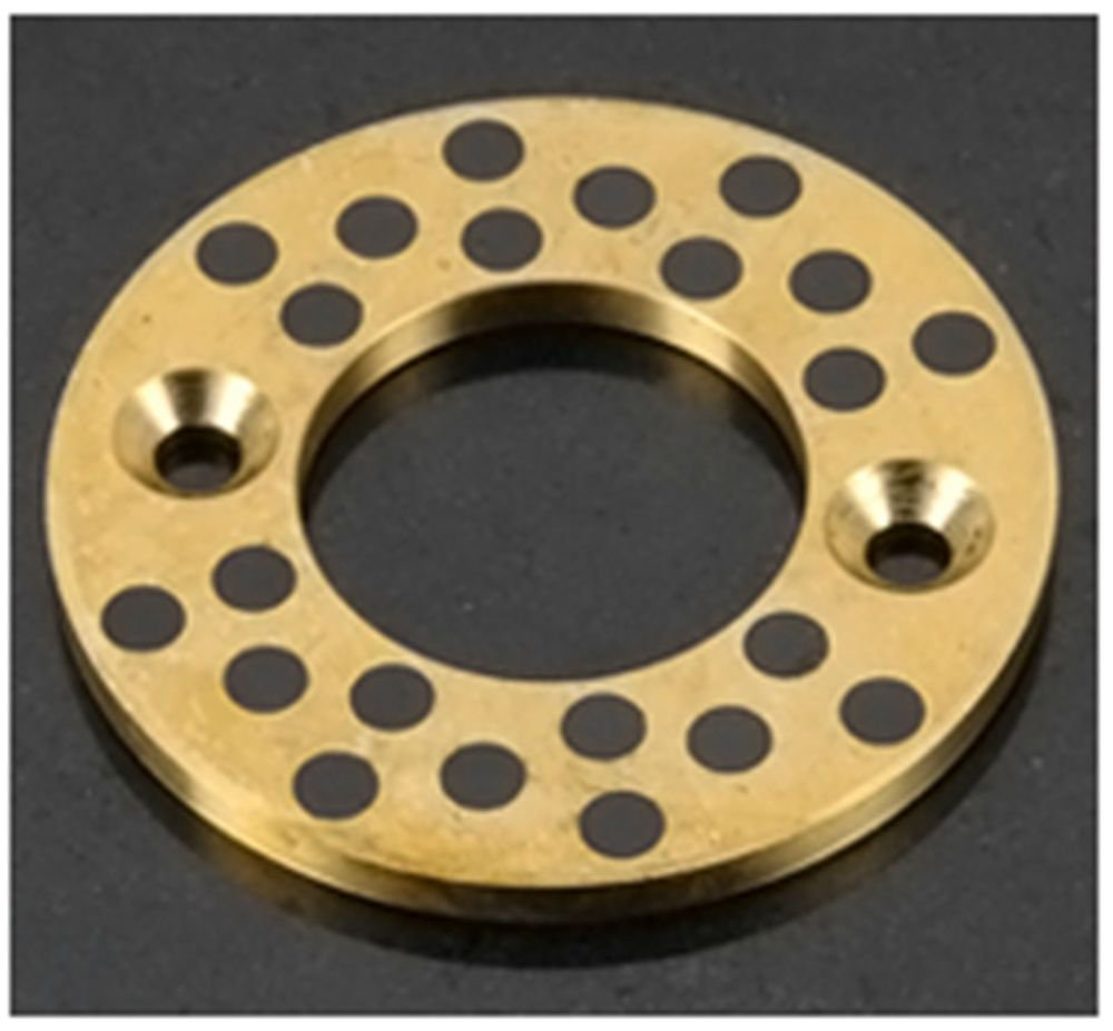 Self-lubricating copper graphite thrust washers ID35.2mm OD70mm HIT5mm  JTW35