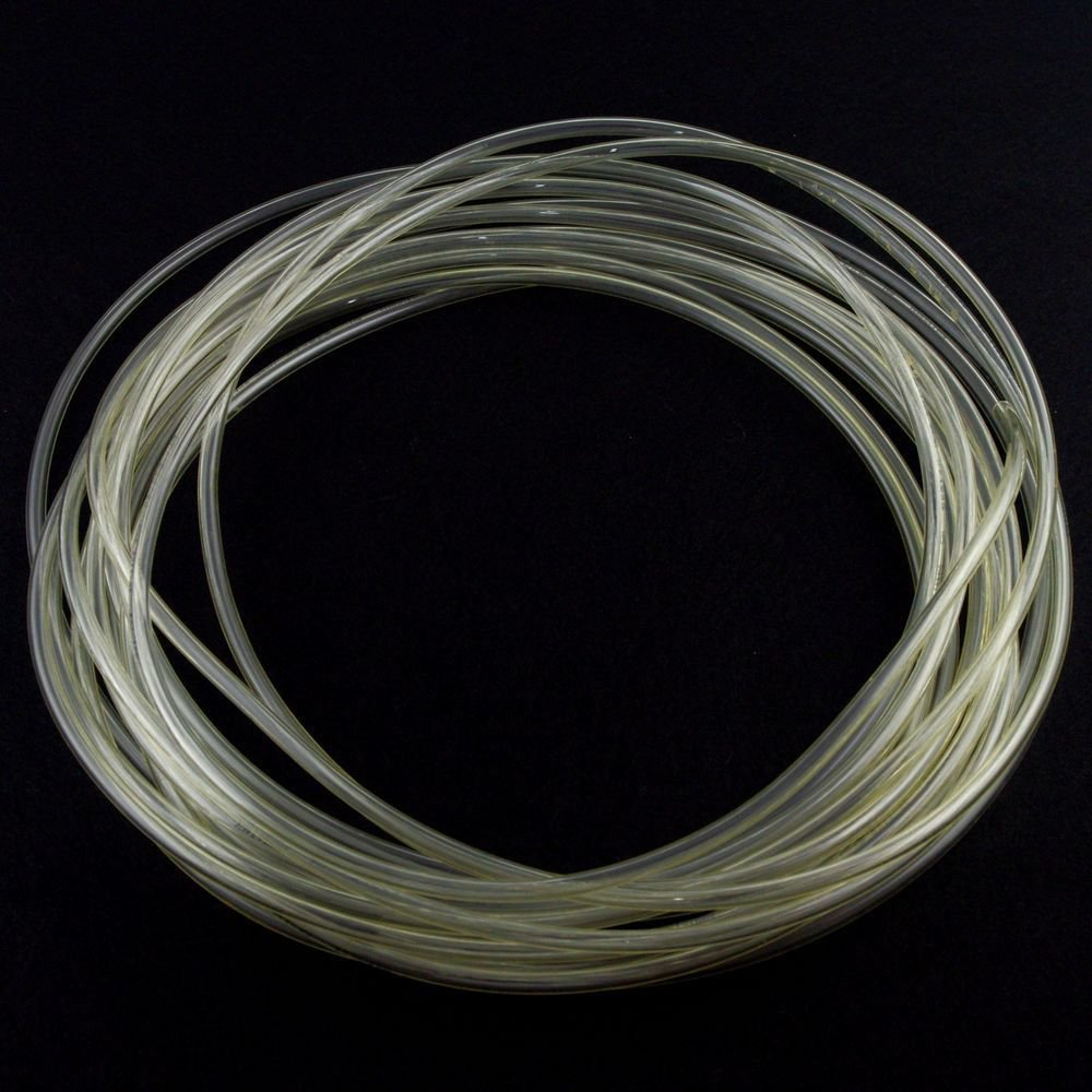 5m(16.4ft) 10mm(OD) x 6.5mm(ID) PU Air Tubing Pipe Hose Color Clear