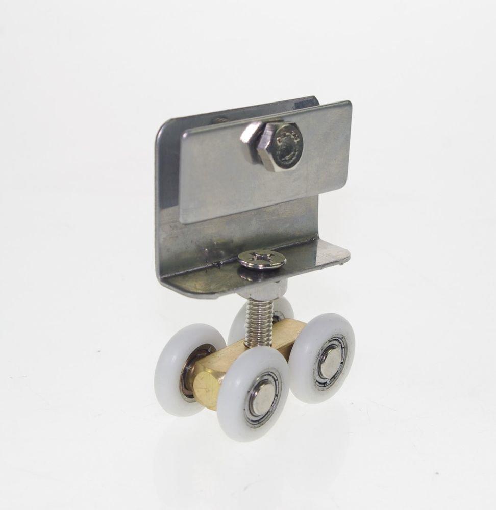 Keep 5-8mm Glass 20mm Dia Handing Wheels Pulley Shower Room Door Roller Runner