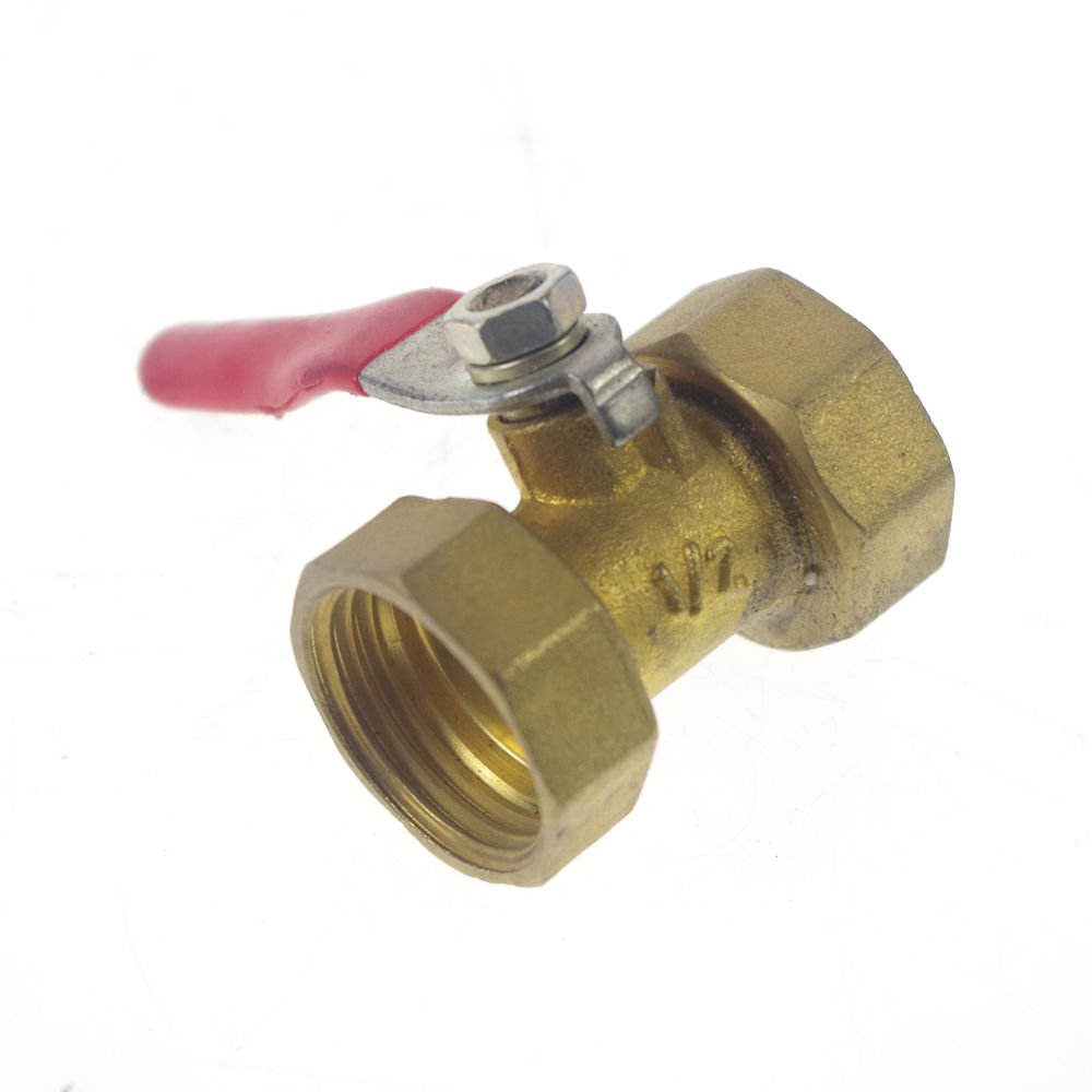 "1/2"" BSPP Air Female/Female Full Ports Brass Ball Valve"
