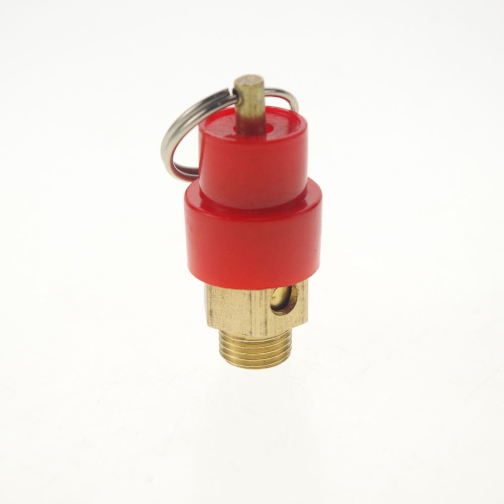 "LOT5 0.9Mpa 1/8""BSPT Air Compressor Pressure Relief Valve Safety Release Valves"
