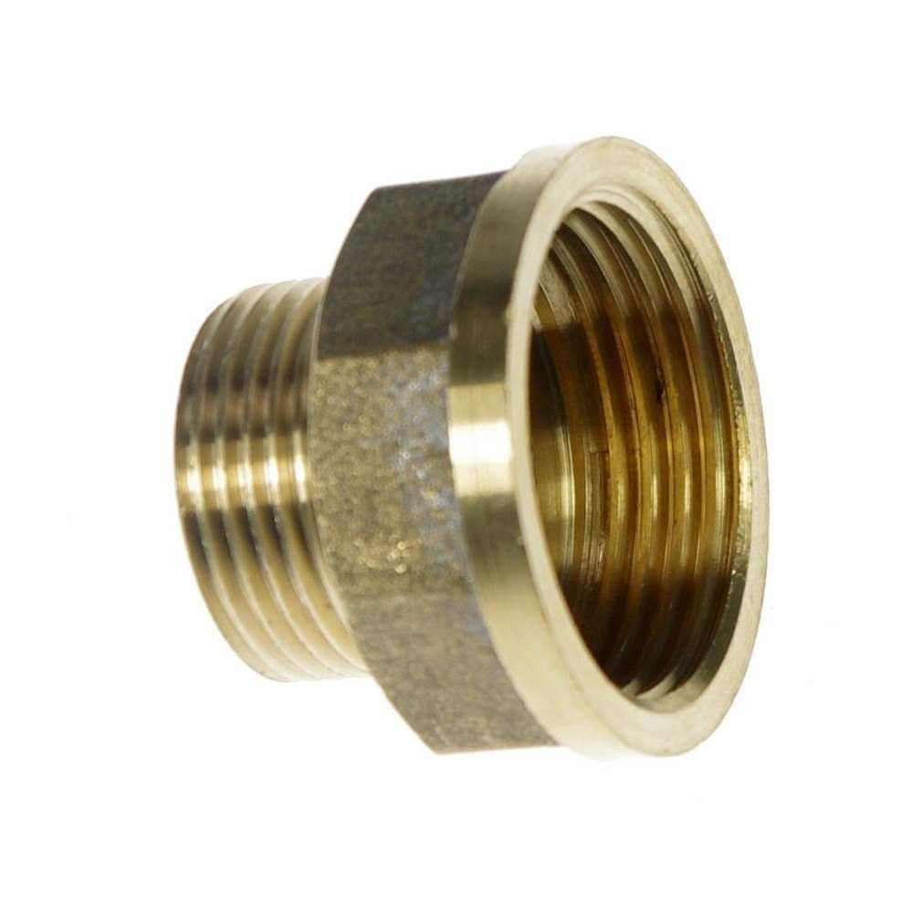 "Brass 3/4"" Female x 1/2"" Male BSPP Connection Bushing Adapter Reducer Fitting"