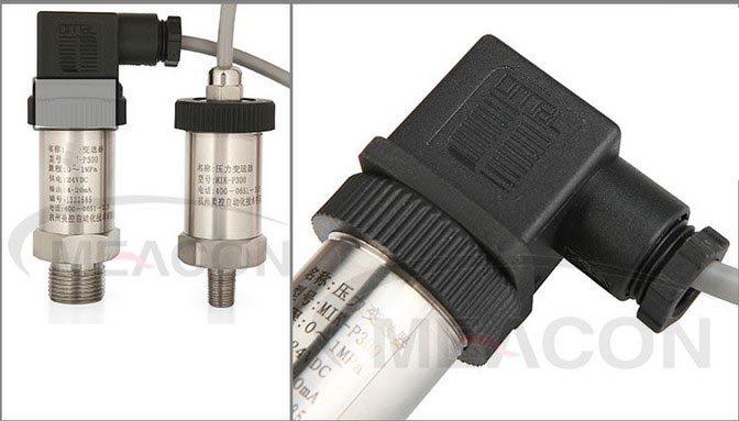 0-1MPA  Transmitter Pressure Transducer 24VDC M20*1.5 Thread 4-20mA output