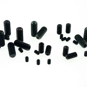 (25) M16x40mm Head Hex Socket Set Grub Screws Metric Threaded flat-head