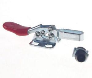 Hand Tool U Shaped Bar Flange Base 27Kg Capacity Horizontal Toggle Clamp