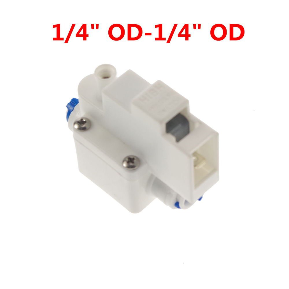 Lot1 Reverse Osmosis Tank High Pressure Switch Aquarium RO Water 1/4�OD Connect