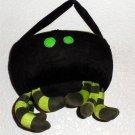 Halloween Candy Tote Bag Tom's International Toys (HK) Black Fur Lime Spider