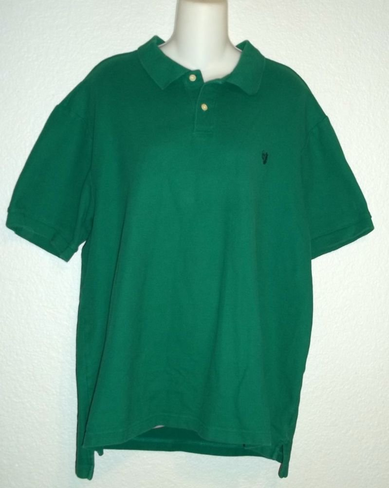 Chaps Est. 1978 Men's XXL 2XL Kelly Green Short Sleeve Cotton Polo Golf Shirt