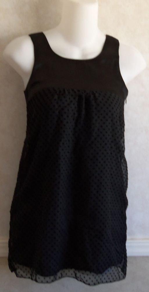 Sallymiller Sally Miller Couture Sexy Dressy Black Sheer Tunic Top 8 Medium