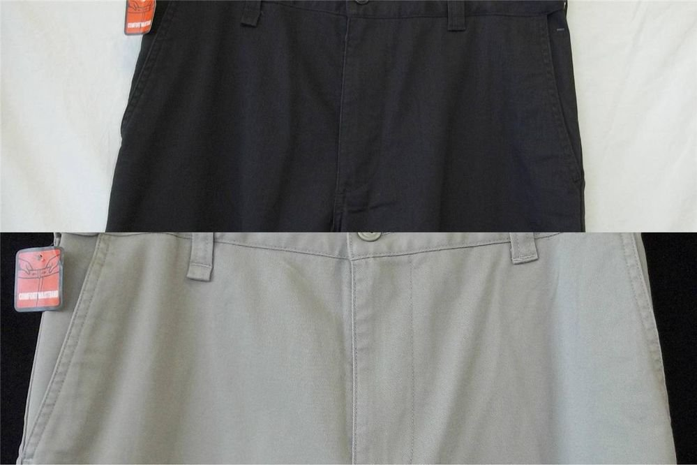 NEW Dockers D3 On The Go Casual Khaki Gray 30Wx30W or Tan Beige 32Wx34W Pants