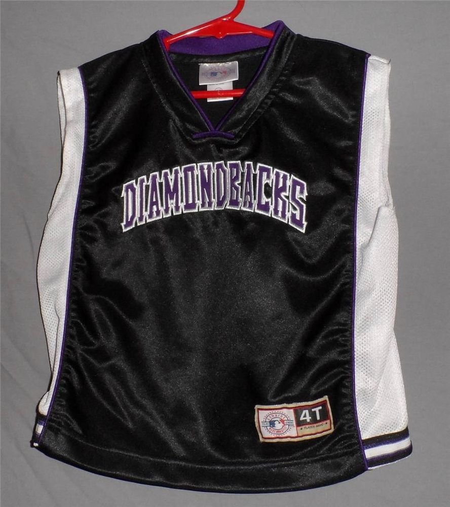 Arizona Diamond Backs DiamondbacksToddler 4T Genuine Merchandise  Black Tank top