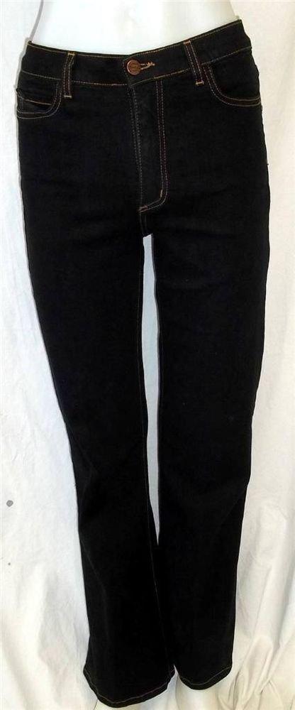 NYDJ Tummy Tuck Jeans 4 Small Dark Denim Wash Classic 5 Pocket Straight Leg