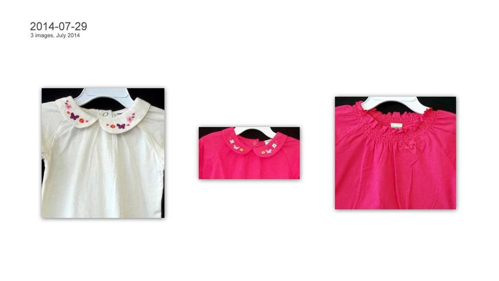 NEW Lot of 3 Osh Kosh 24M Toddler One Piece Outfits Snaps (2) Hot Pink (1) White