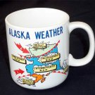 1989 Alaska Weather Graphic Collectible Coffee Cup Mug