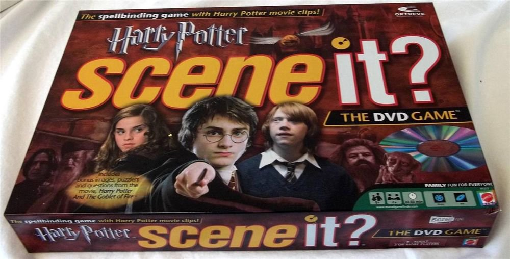 Harry Potter Scene it? The DVD Game 1st Edition 2005 Movie Clips Collectible