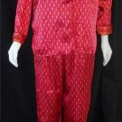 Secret Treasures Medium 8 10 2 Piece Red Top & Pants Silky Pajama Lounge Set