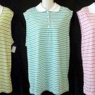 NEW Weekend Traffic 3X 22W 24W 1X 14W 16W Pink Green Aqua Striped Sleeveless Top