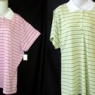NEW Weekend Traffic 2X 18W 20W 3X 22W 24W Pink or Green Golf Casual SS Top Shirt