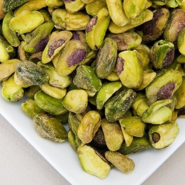 PISTACHIOS SHELLED KERNELS RAW UNSALTED, 1LB