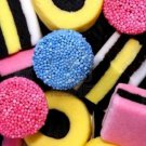 Licorice All sorts Gustaf's  4X6.6 LBS PER CS