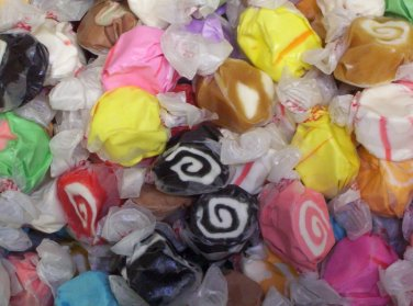 "ASSORTED SALT WATER TAFFY 5Lbs ~Taffy Town ~ ""The World's Best Taffy"