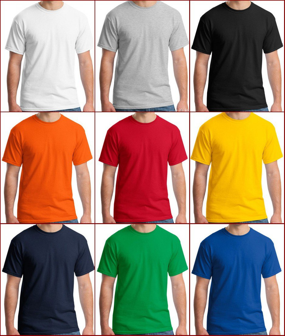 Multicolor high quality man's Ultra Cotton Adult T-Shirt xs-2xl YF40