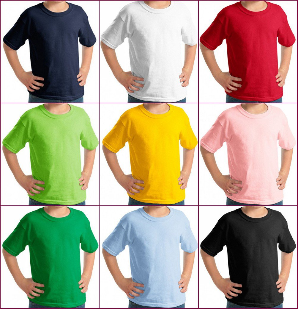 Multicolor high quality kid's Ultra Cotton Adult T-Shirt xs-xl YF41
