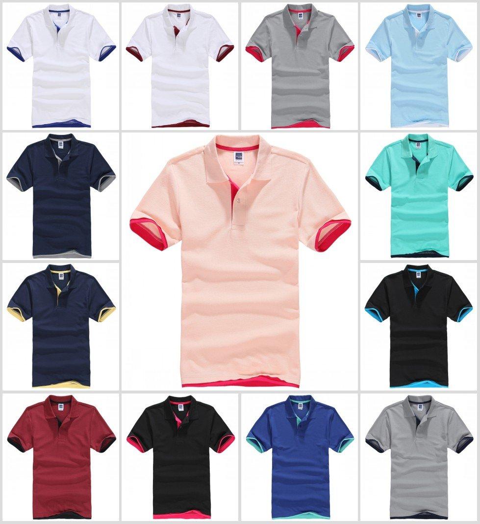 2014 Mens hit color Golf Polo Shirt 12 Colors Choose S-3XL YF42