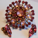 Pink Brooch and Coordinating ERs