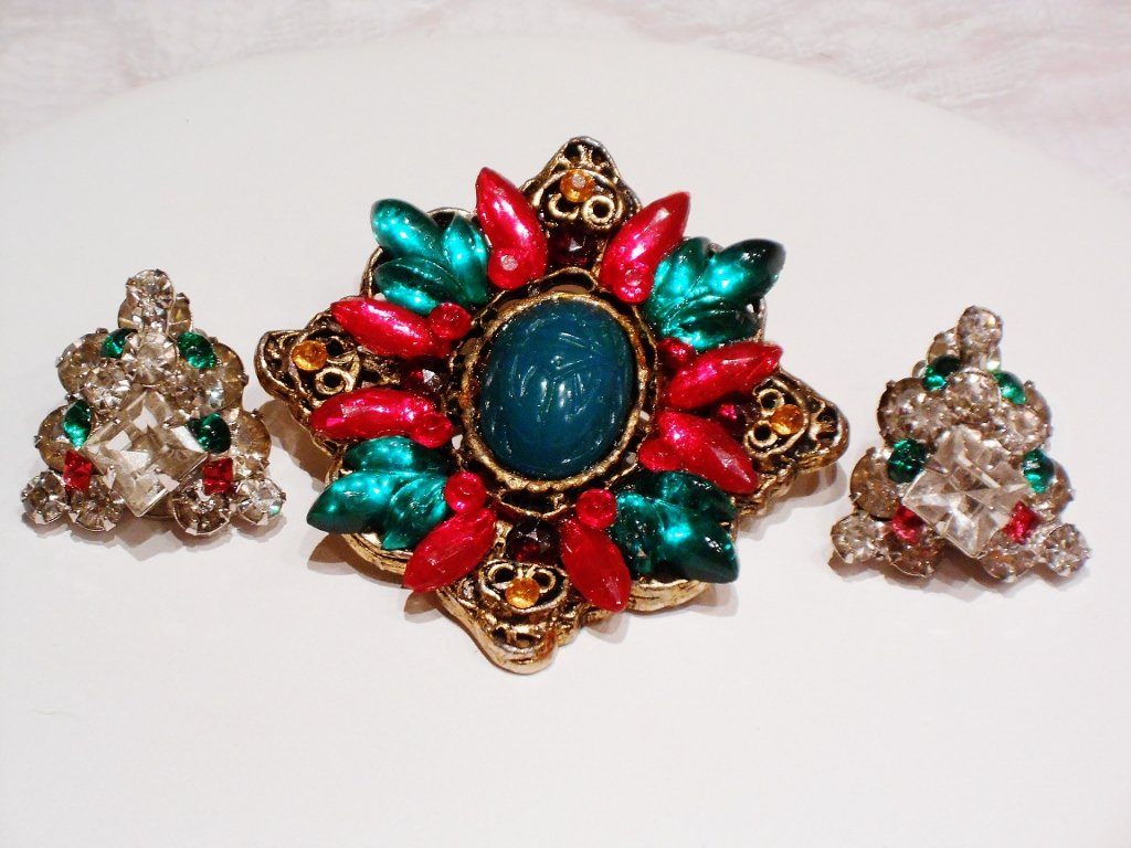 Elderly Brooch and ERs