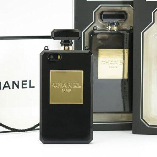 Chanel Perfume Bottle iPhone 5/ 5s Black Case