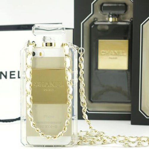 Chanel Perfume Bottle iPhone 5/ 5s Clear Case