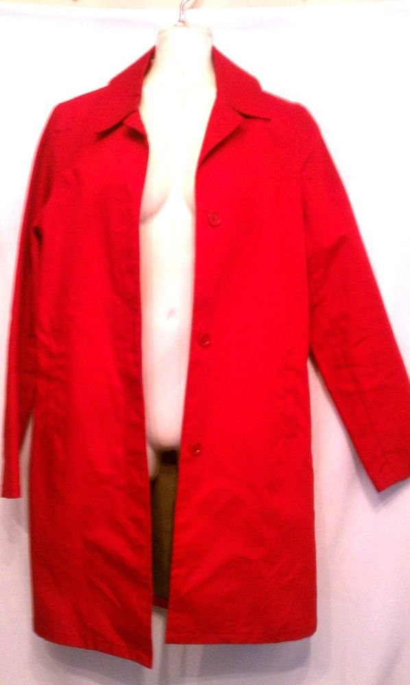 Old Navy Xsmall Coat Red Cotton Long Fall Winter Ski Holiday Christmas