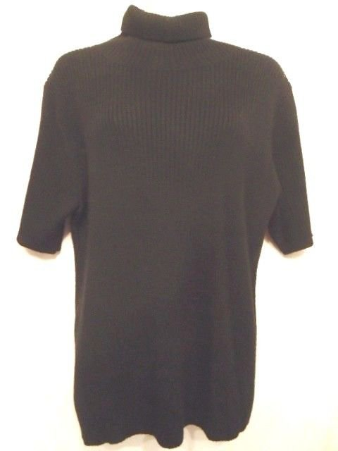 Jessica Holbrook easycare large Turtle Neck Merino Wool Sweater