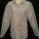 Talbots Shirt Medium White Plaid Long sleeve Cotton