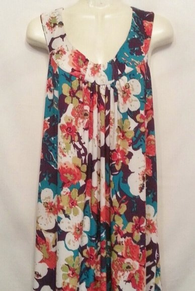 Nic & Dom Floral Xlarge dress