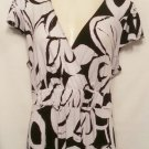 Merona Xlarge black white dress