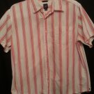 Gap mens Xlarge Red Stripe Short sleeve shirt