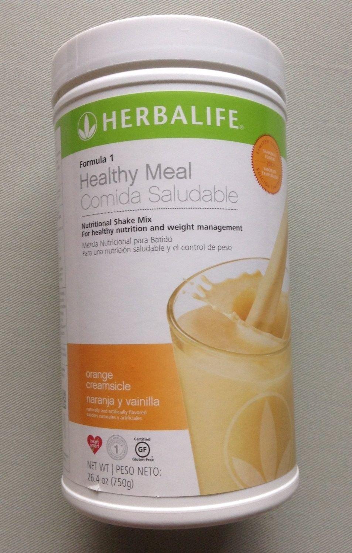 Herbalife Formula 1 Nutritional Shake Mix - Orange Cream (750g)