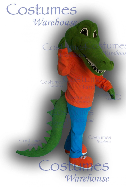 Alligator Costume Mascot