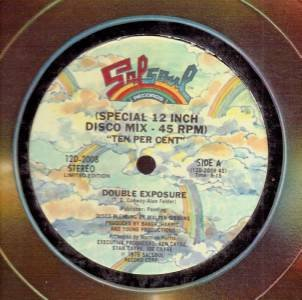 "DOUBLE EXPOSURE TEN PER CENT ORIGINAL 12"" VINYL RECORD Disco 1976 Salsoul"