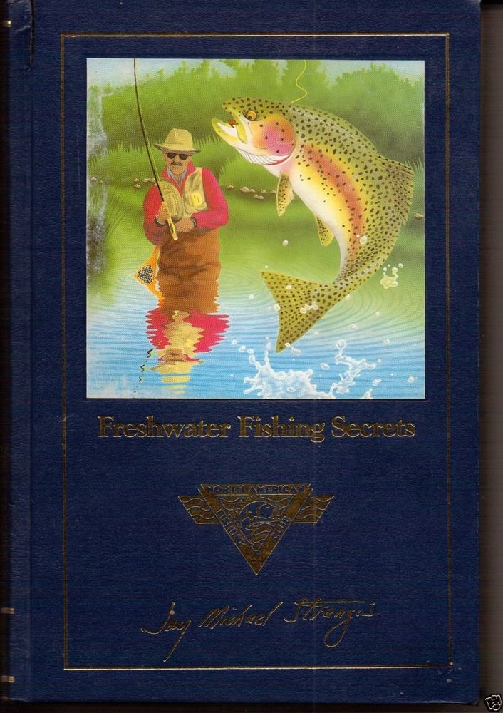 North American Fishing Club book Lot of 5 Walleye Bass Freshwater Panfish Findin
