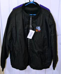 Colt 45 North End Black Fleece Lined Jacket EZEM System 2X/XXL NEW w/ TAGS